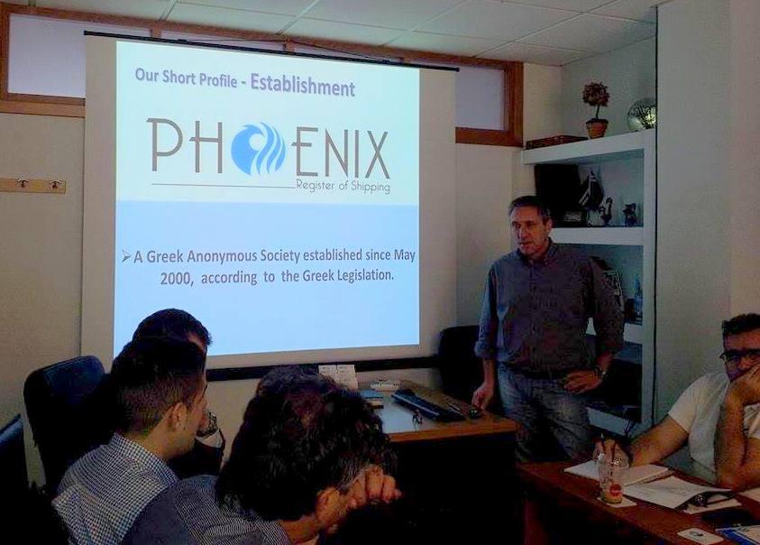 Ο Γενικός Διευθυντής του  Phoenix Register of Shipping,  κ. Αρβανιτάκης Άρης
